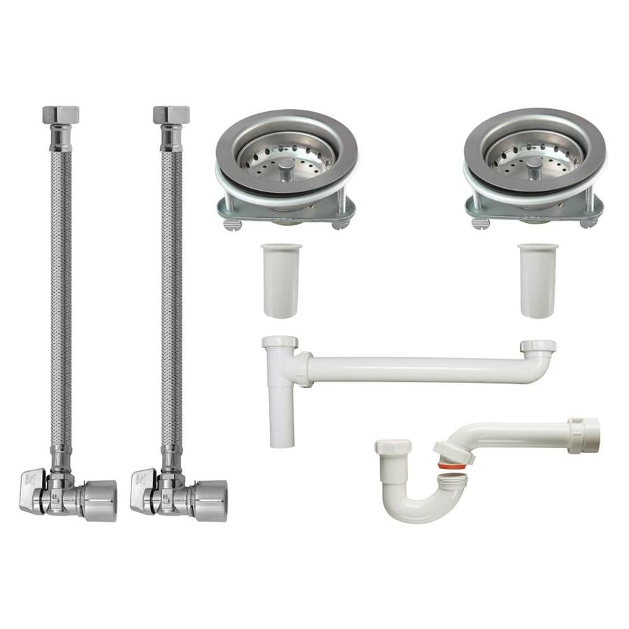 installation of kitchen sink shop keeney kitchen sink installation kit for 1 1 2 in 4726