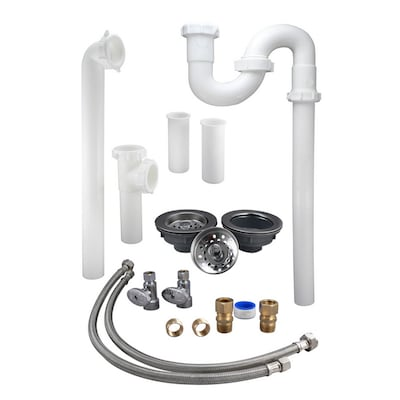 Plumb Pak Kitchen Sink Installation Kit for 1-1/2-in Pipe at ...