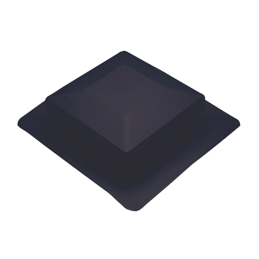 AIR VENT INC. Black Plastic Square Roof Louver