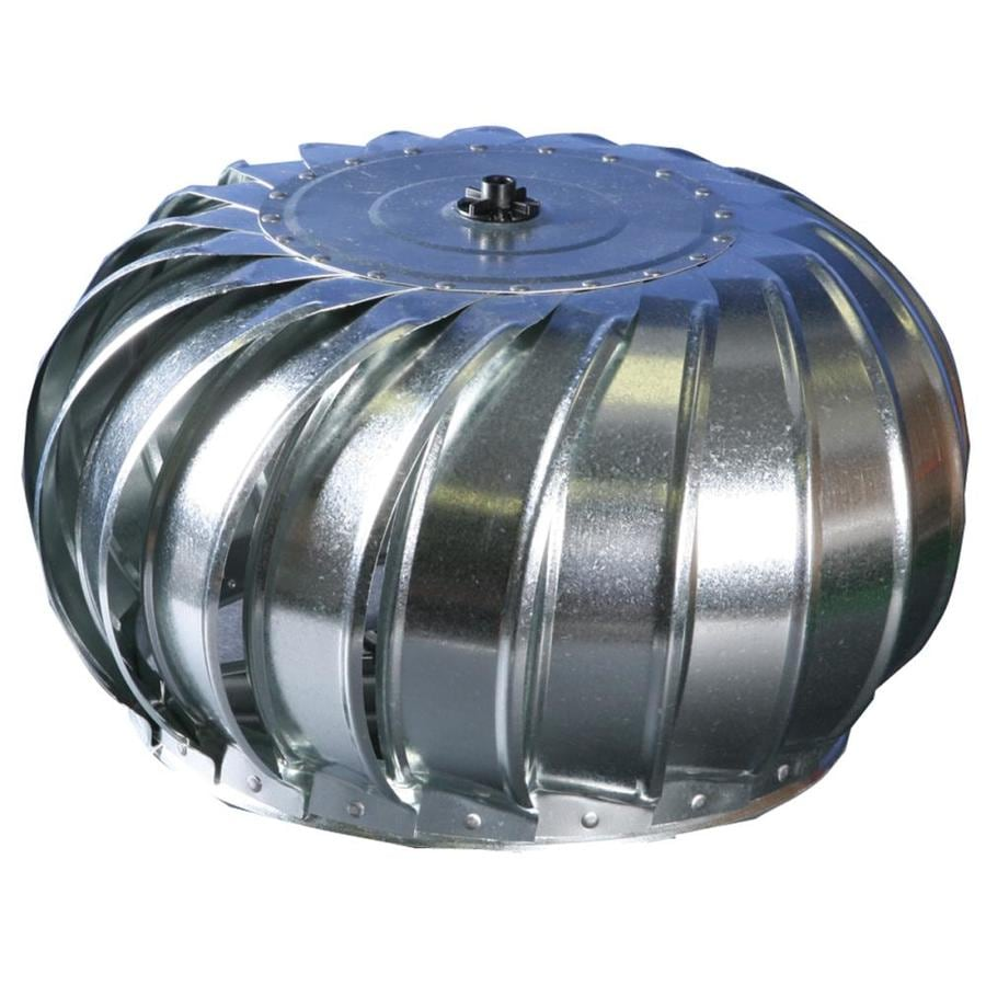 Air Turbo Ventilator : Shop air vent in galvanized steel internally braced