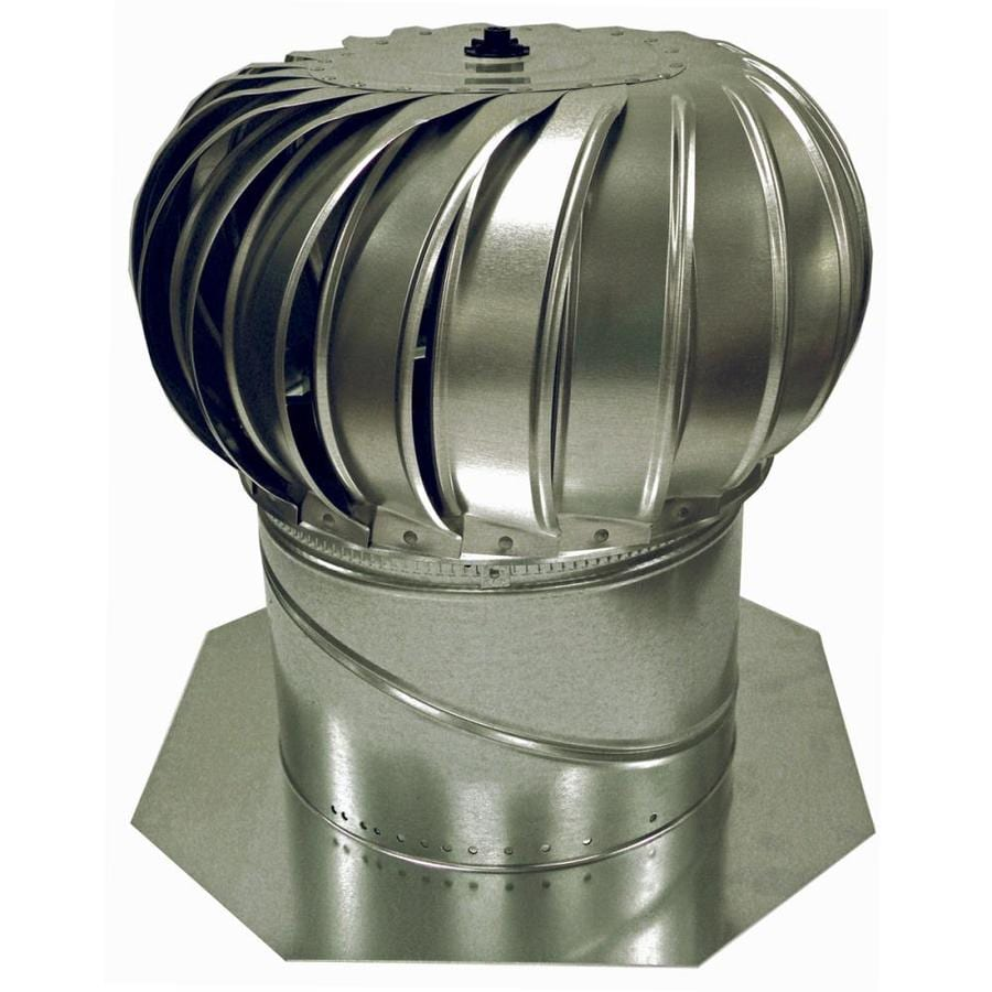 AIR VENT INC. 12-in Aluminum Internally Braced Roof Turbine Vent