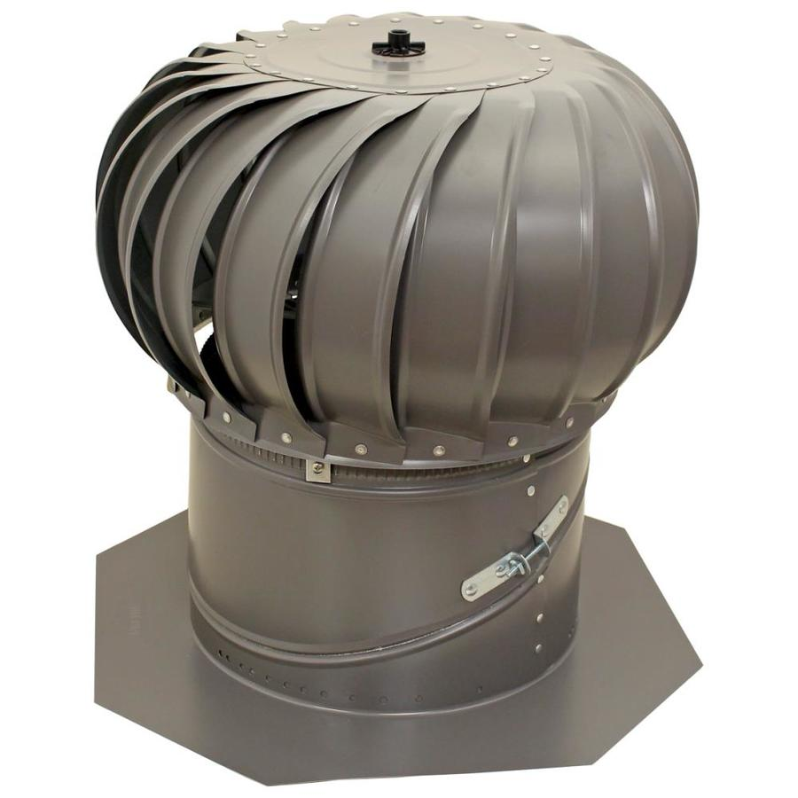shop air vent 12-in galvanized steel internally braced roof turbine