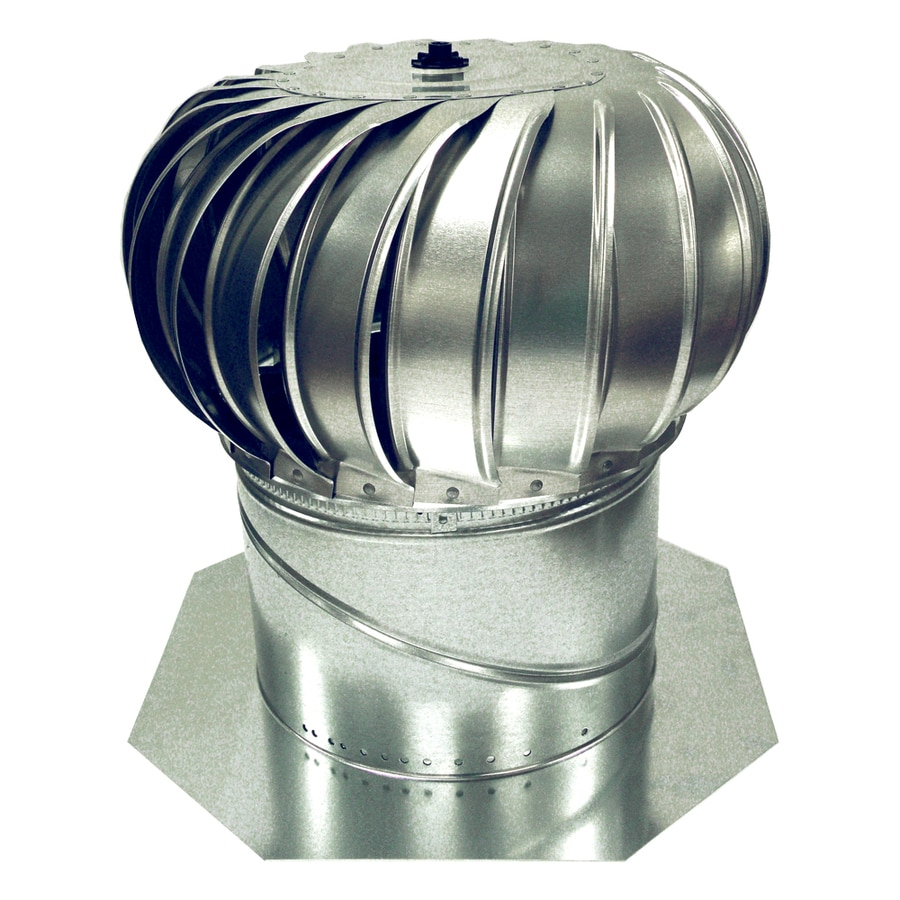 Turbine Roof Ventilators : Shop air vent in galvanized steel internally braced