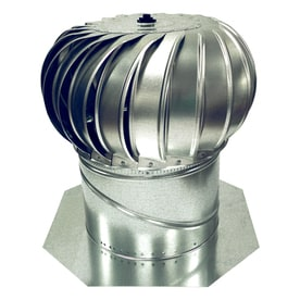 Elegant Air Vent 14 In Aluminum Internally Braced Roof Turbine Vent