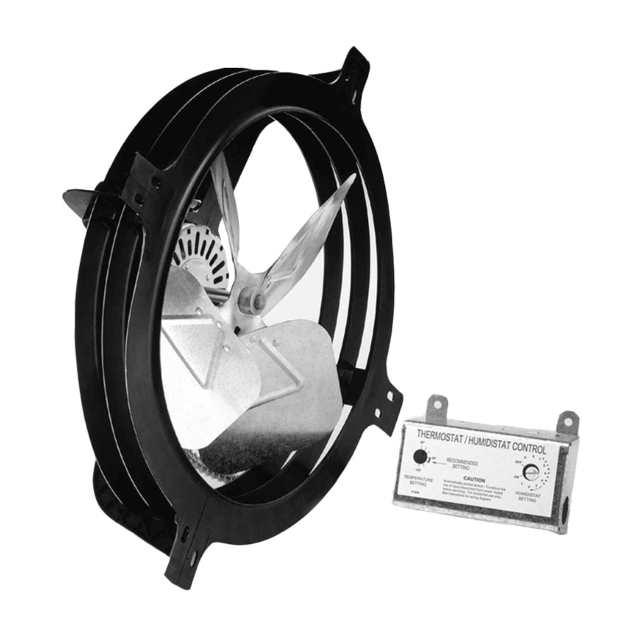Blue Hawk 18-in Dia Electric Gable Vent Fan