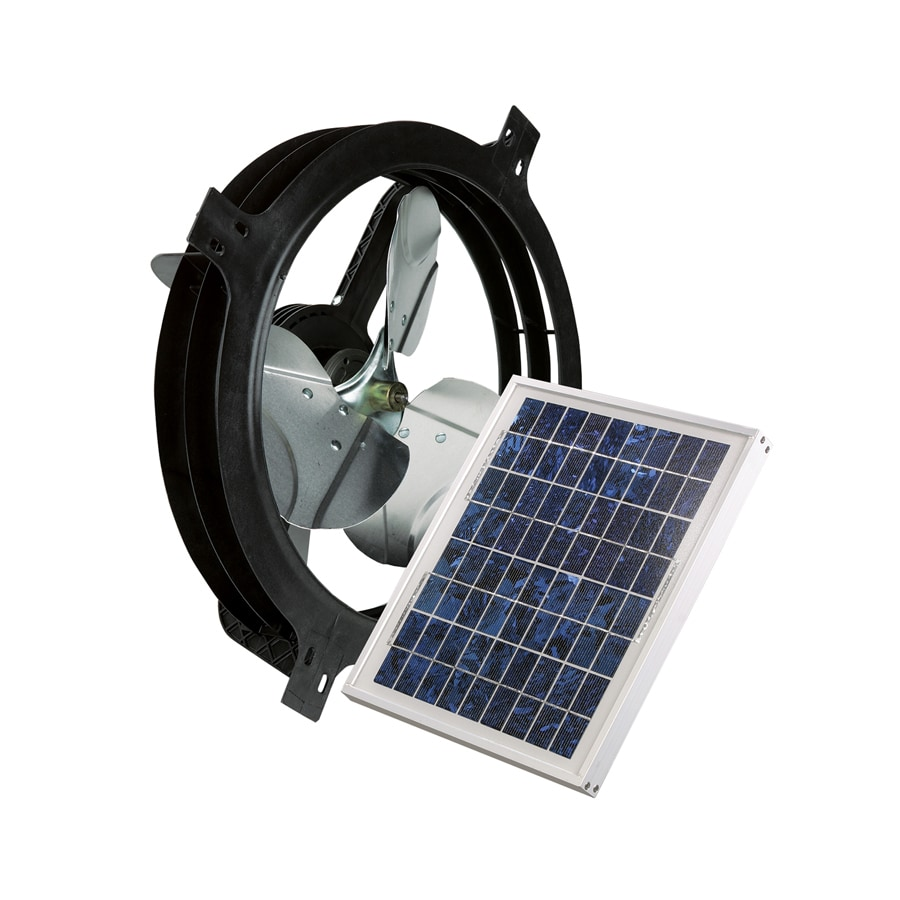 Blue Hawk 17.875-in Dia Solar Gable Vent Fan