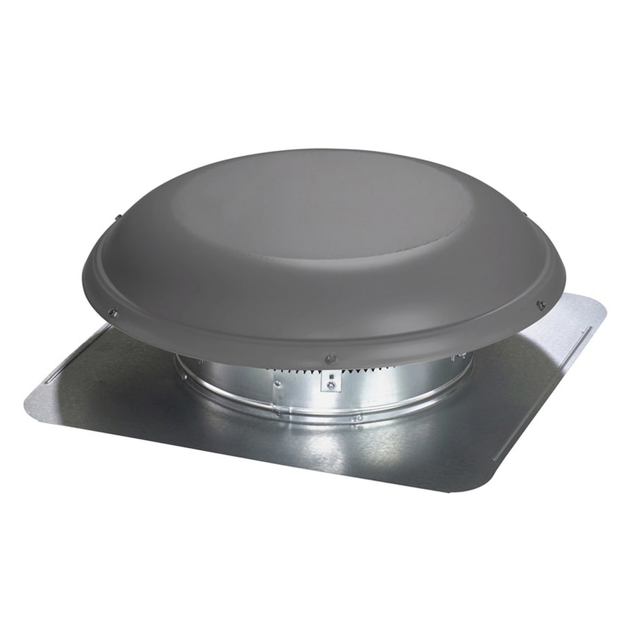 Air Vent High Efficiency Attic Fan 1470 Cfm Weatherwood Galvanized Steel Electric Roof
