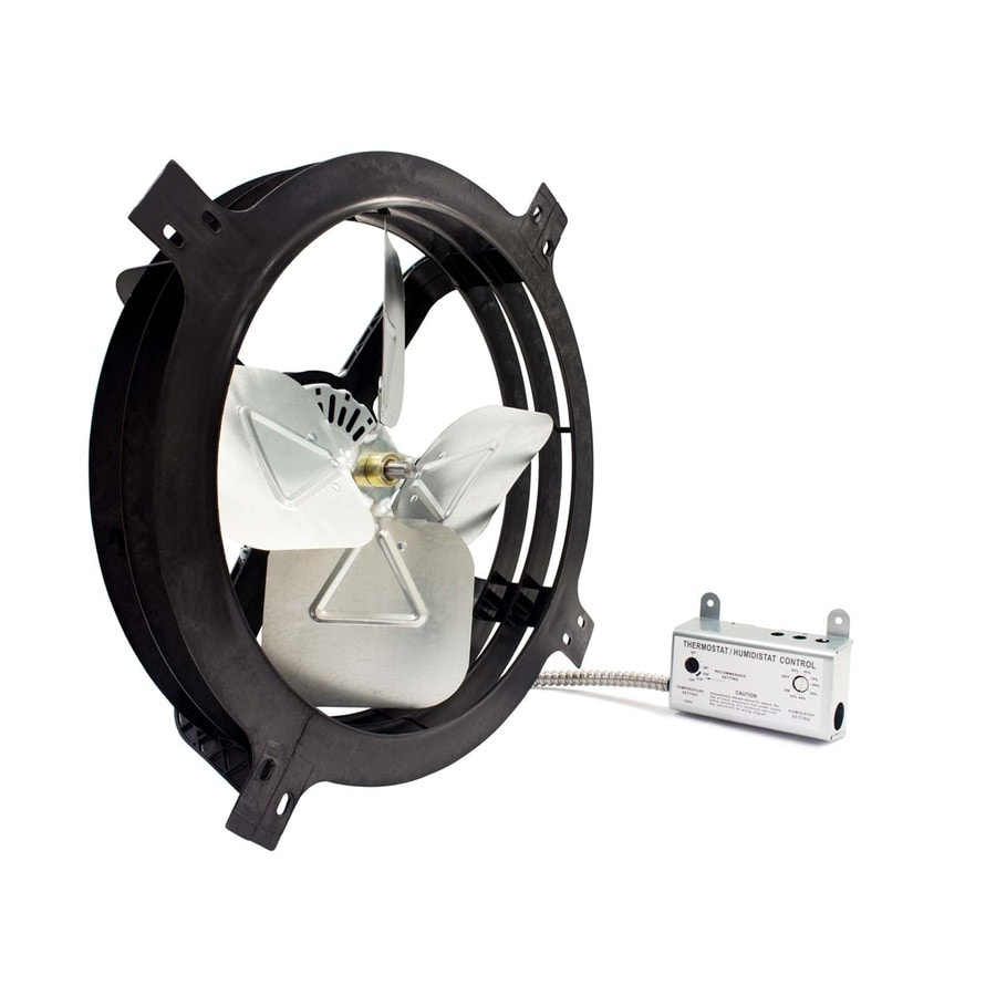 AIR VENT INC. 18-in Dia Electric Gable Vent Fan