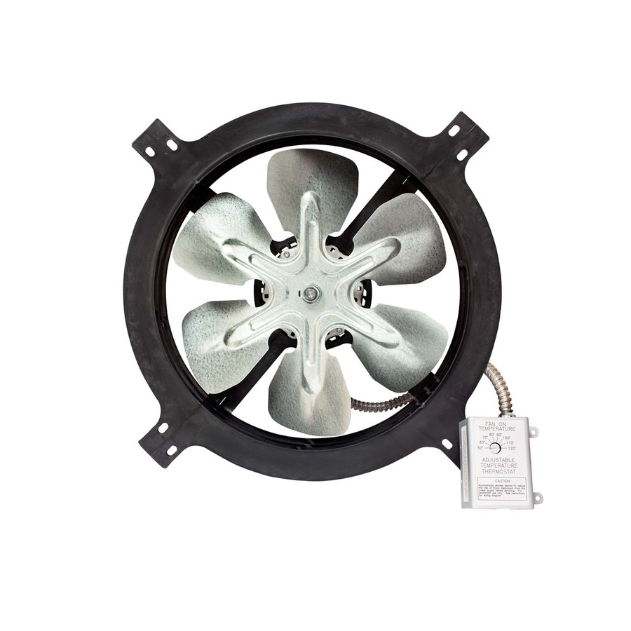 Shop Air Vent 18 In Dia Electric Gable Vent Fan At Lowes Com