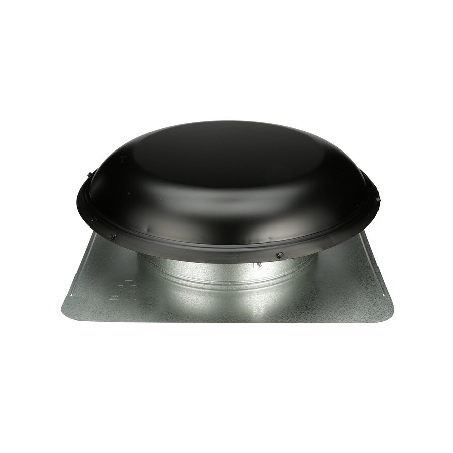 delete 4 Black Galvanized Steel Round Roof Louver