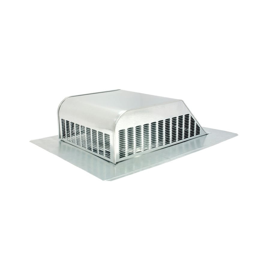 Air Vent Mill Galvanized Steel Slant-Back Roof Louver