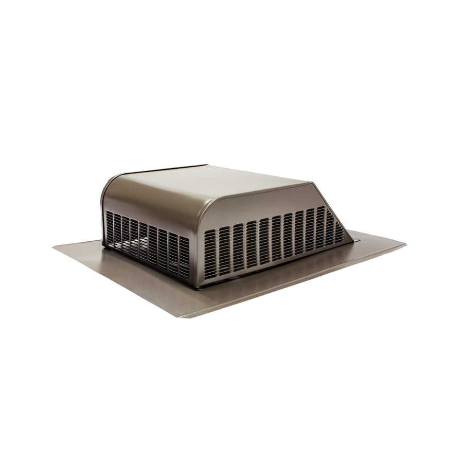 Air Vent Weatherwood Galvanized Steel Slant-Back Roof Louver