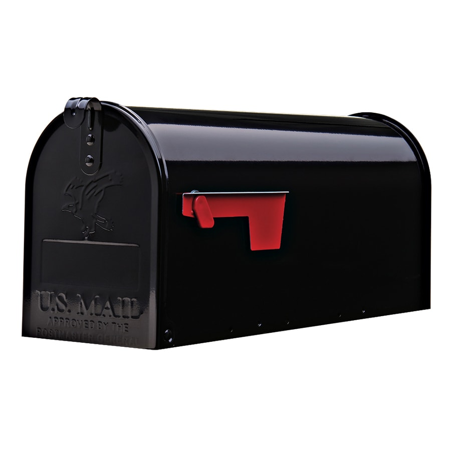 Ordinaire Gibraltar Mailboxes Elite 6.9 In W X 8.9 In H Metal Post Mount Mailbox