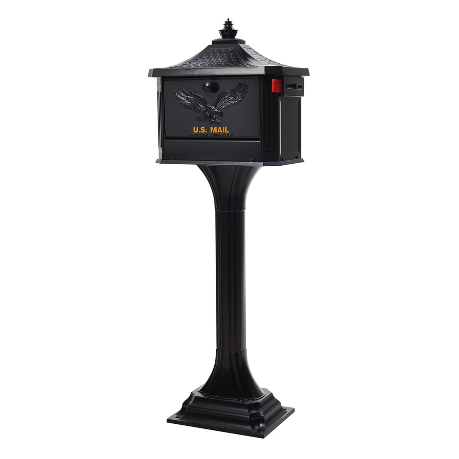 unique residential mailboxes. Display Product Reviews For Pedestal 18-in W X 49.6-in H Metal Black Unique Residential Mailboxes