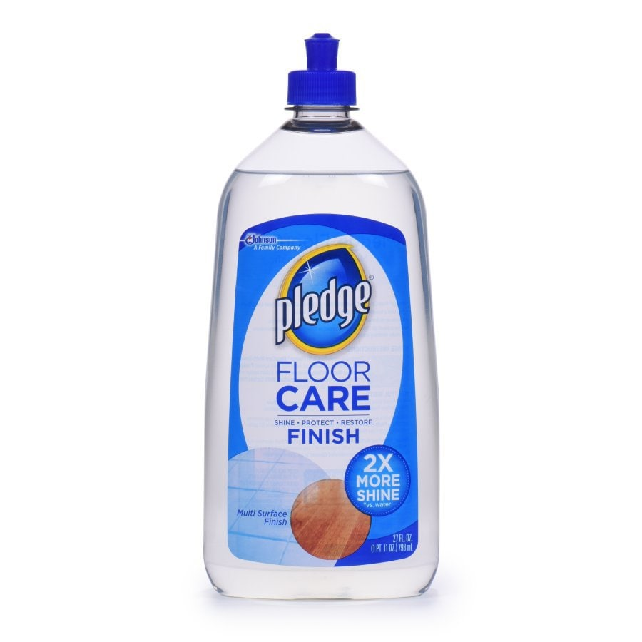 Pledge 27 Fl Oz Hardwood Floor Cleaner At Lowes Com