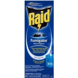 Raid 3-Pack Fumigators