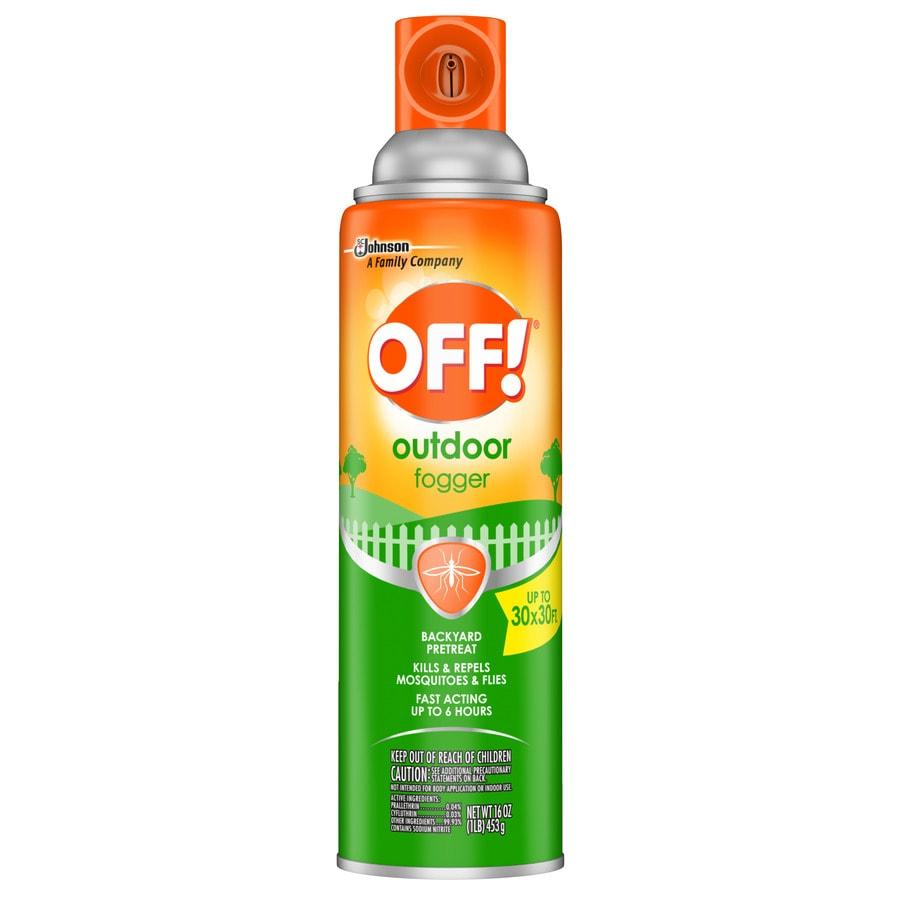 Off! Backyard Pretreat 16-oz Fogger