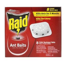 Raid 8-Count 8 Count Ant Bait Station