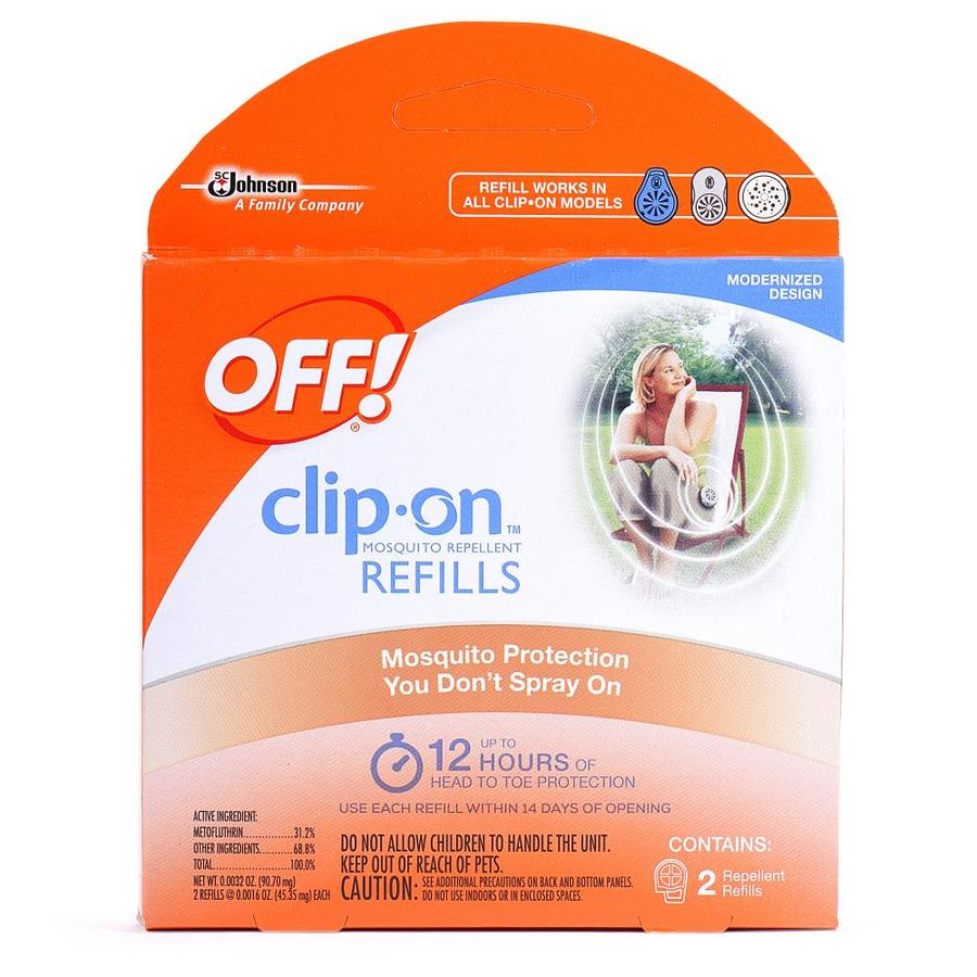 Off! Clip On Mosquito Repellent