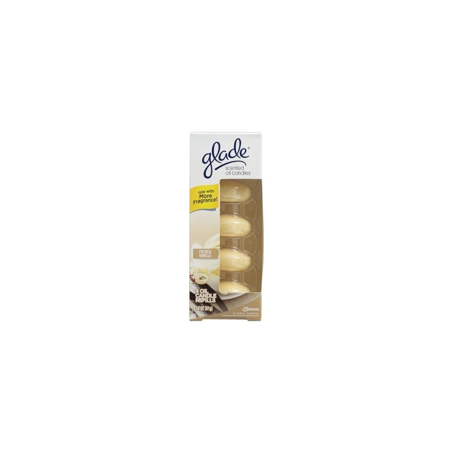Glade 4-Pack French Vanilla Scented Oil Refills