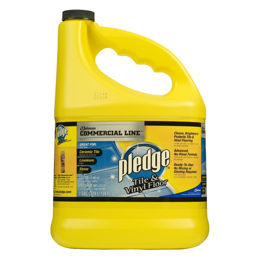 Shop Pledge 128 Oz Tile And Vinyl Floor Cleaner At Lowes