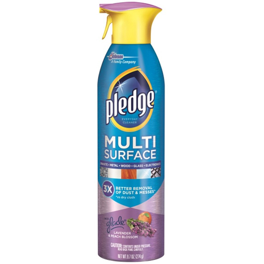 Pledge 9.7-fl oz Lavender and Peach All-Purpose Cleaner