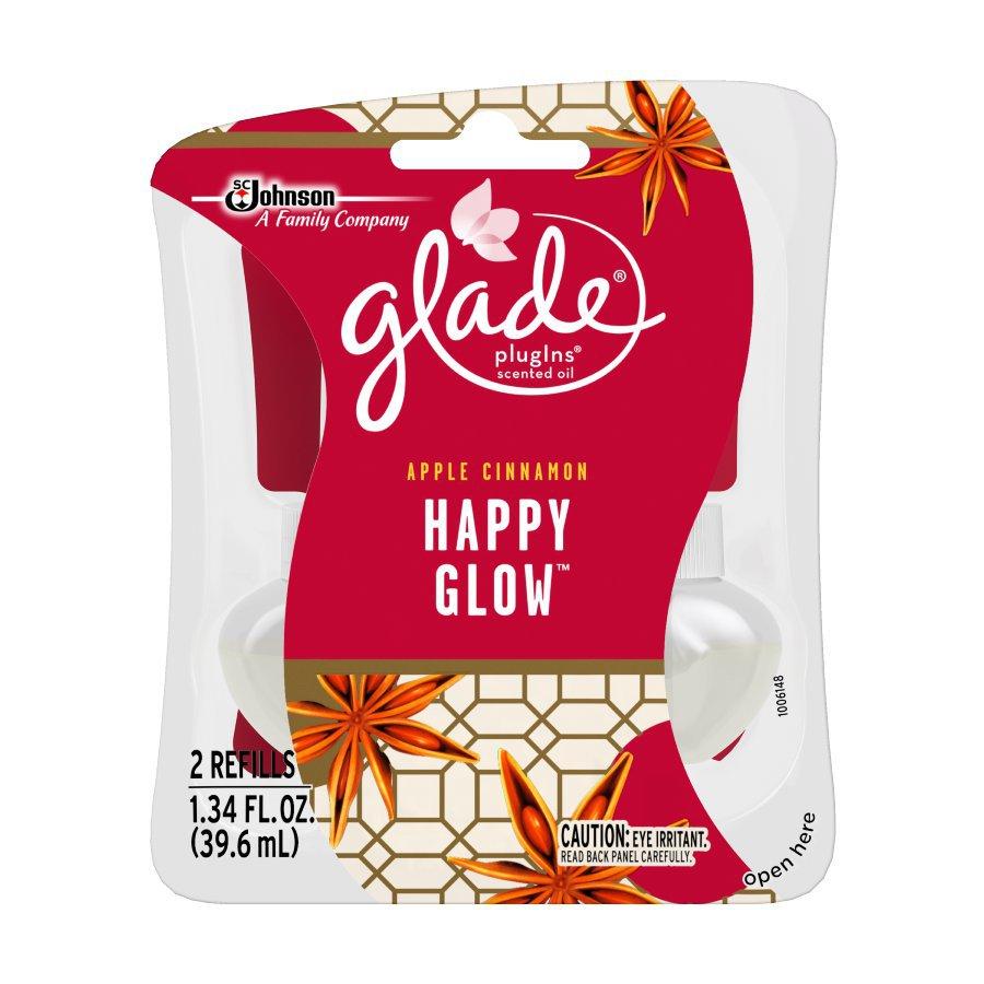 Glade 2-Pack Apple Cinnamon Plug-in Electric Air Freshener Refills