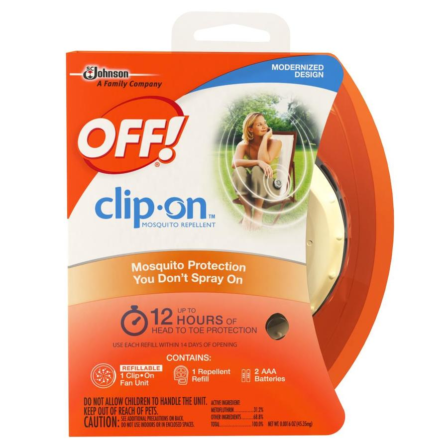 Off! Clip On 1-Count Mosquito Repellent