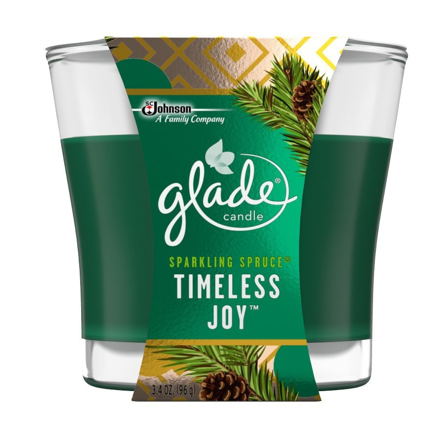 Glade 3.4-oz Spruce 1-Wick Any Occasion Jar Candle