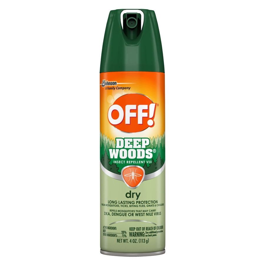 Off! 4 Oz. Deep Woods Dry Spray
