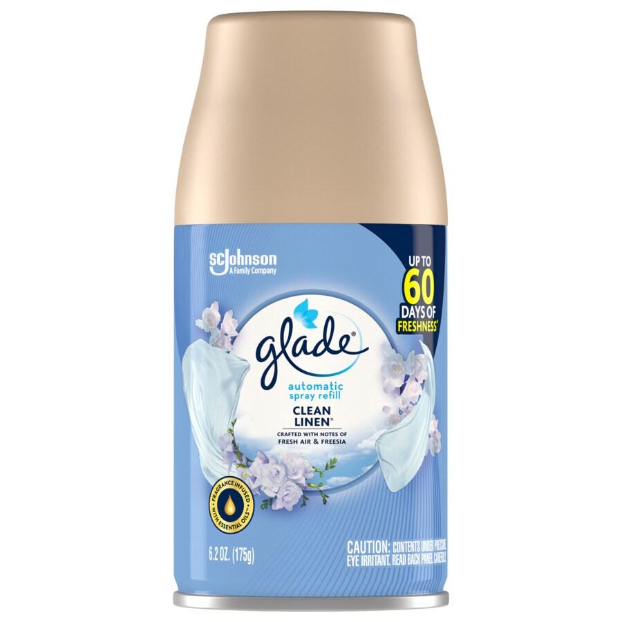 Glade Clean Linen Air Freshener Spray Refill