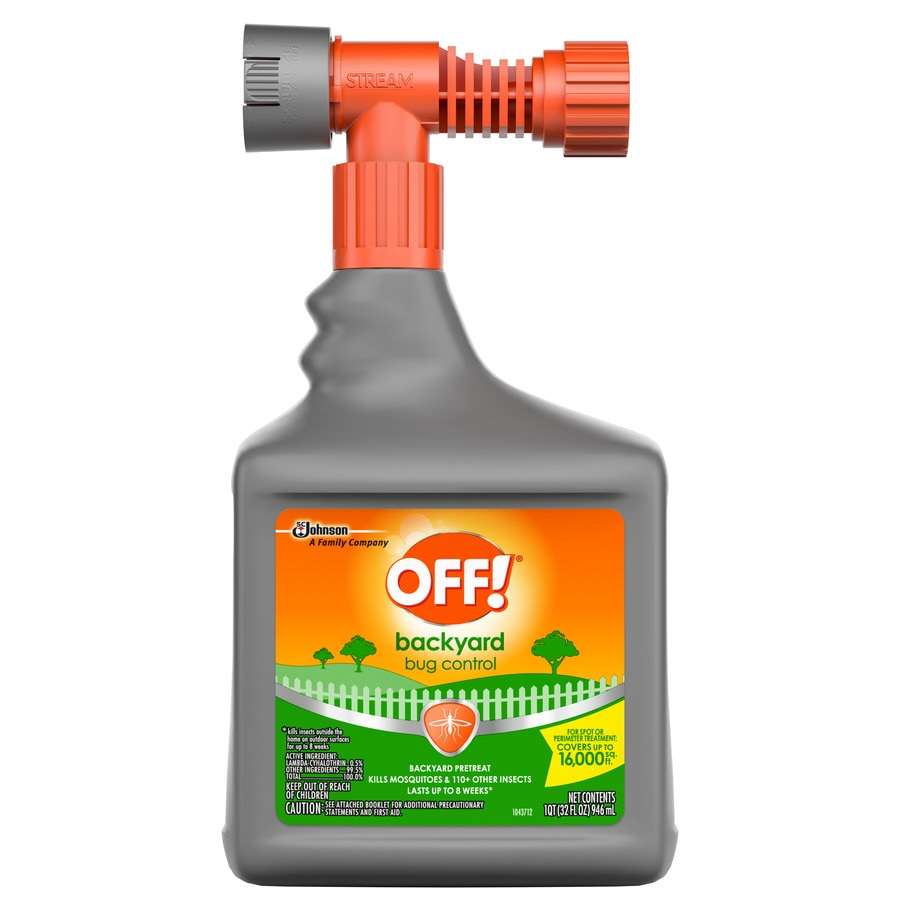 Off! Backyard Pretreat 32-oz Insect Killer