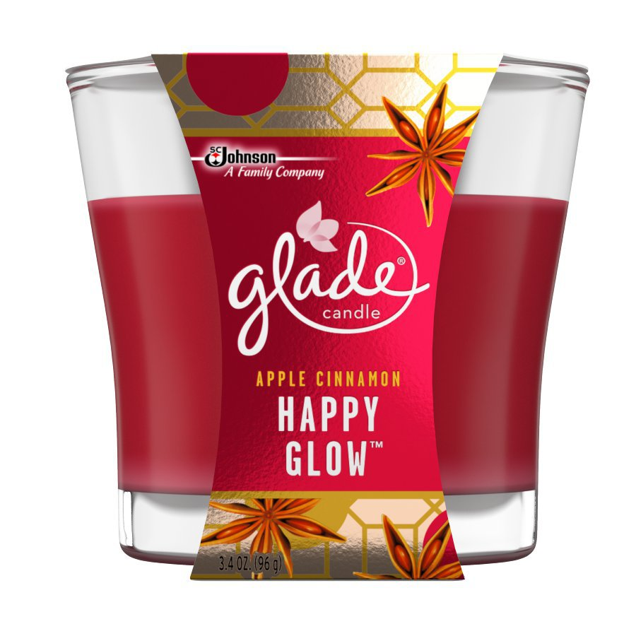Glade 3.4-oz Apple Cinnamon 1-Wick Any Occasion Jar Candle