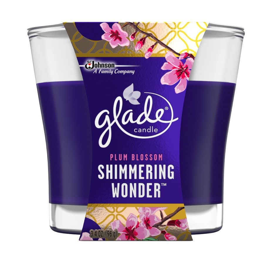 Glade 3.4-oz Plum Blossom 1-Wick Any Occasion Jar Candle