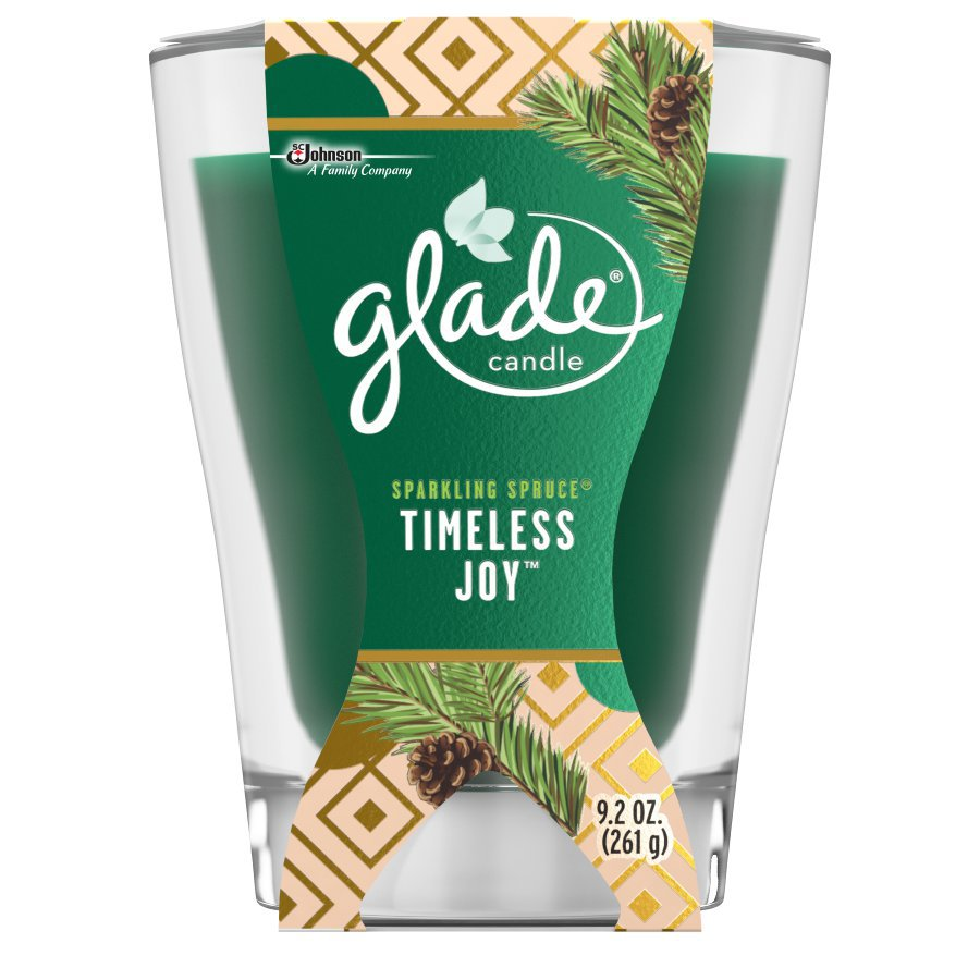 Glade 9.2-oz Spruce 1-Wick Any Occasion Jar Candle
