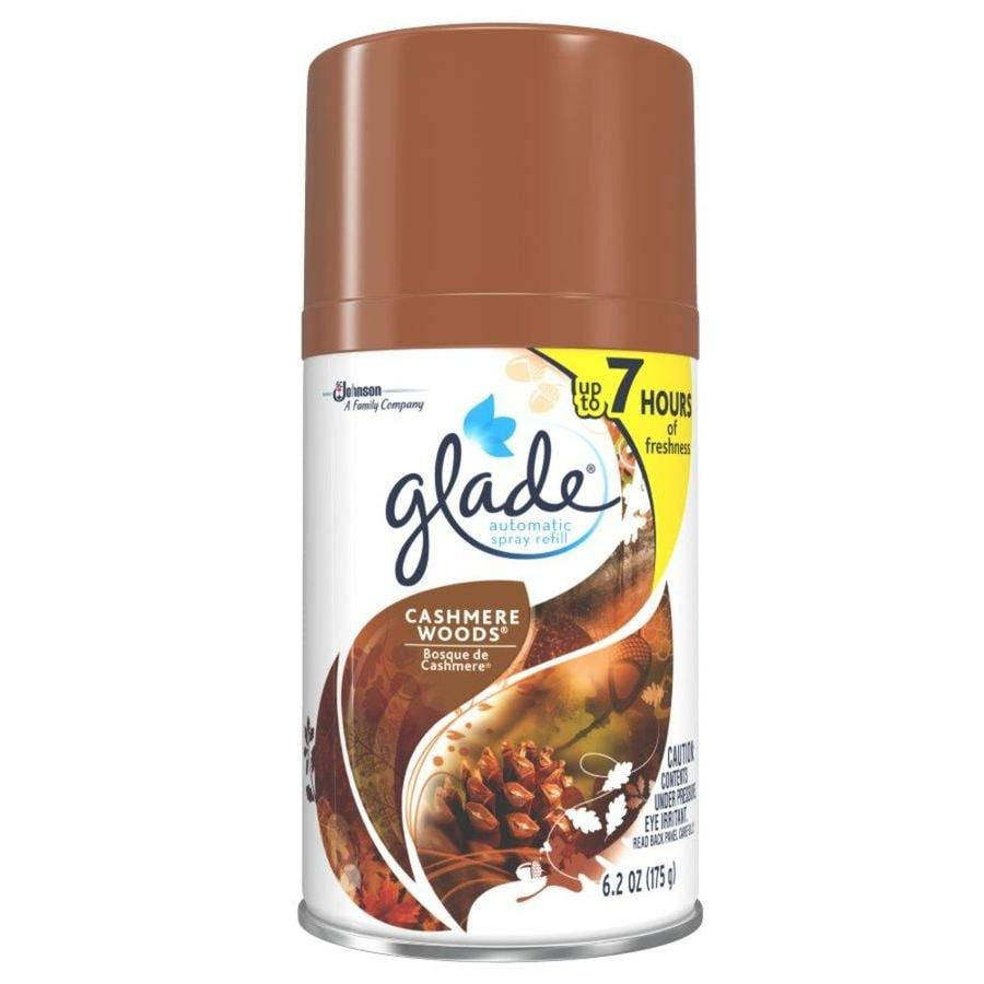 Glade Cashmere Woods Air Freshener Spray Refill