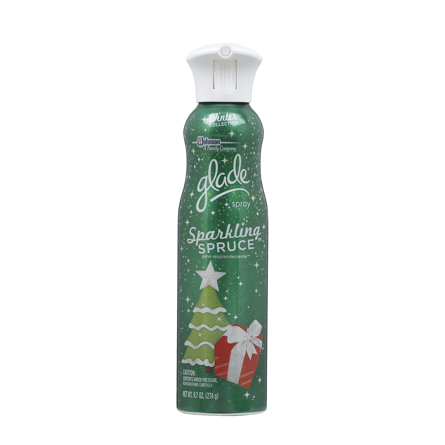 Glade 9.7-oz Sparkling Spruce Air Freshener Spray