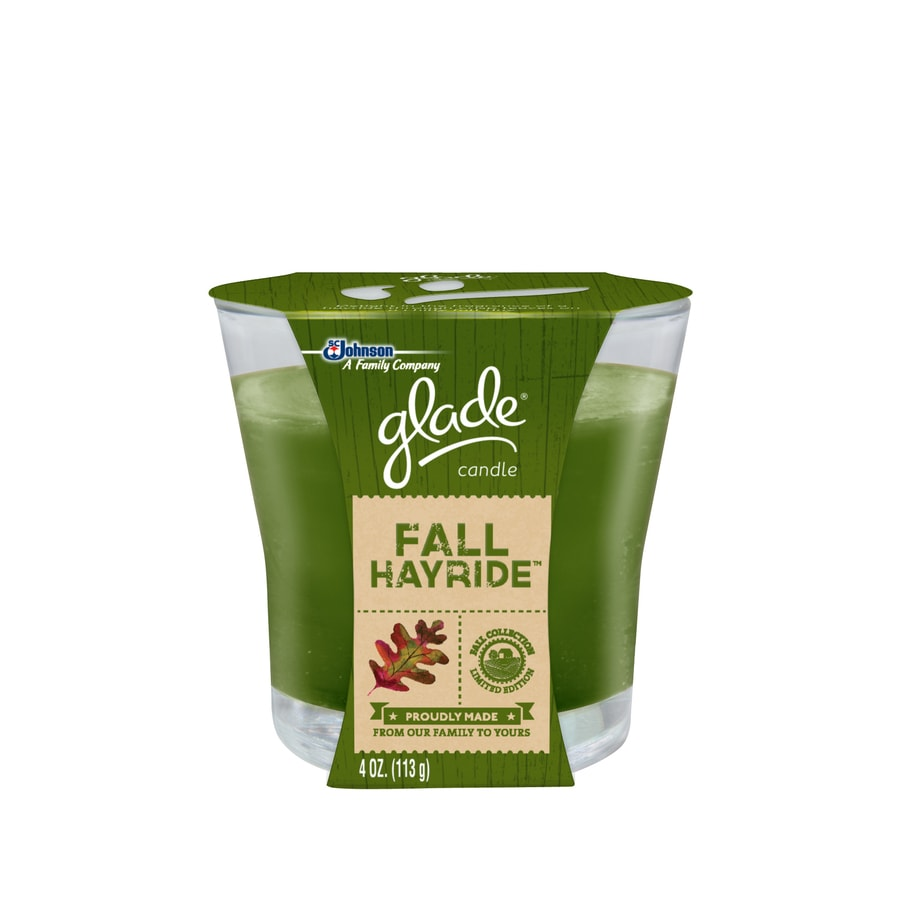 Glade 4-oz Fall Hayride Jar Candle
