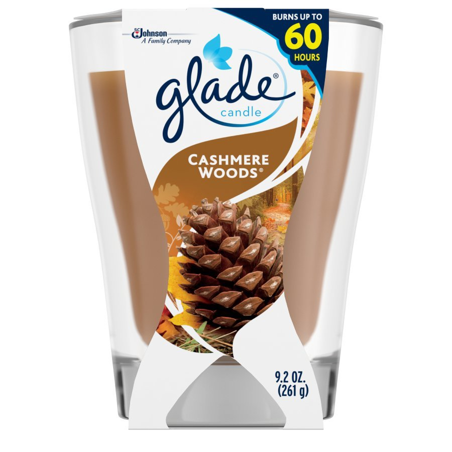 Glade 9.2-oz Cashmere Woods 1-Wick Any Occasion Jar Candle