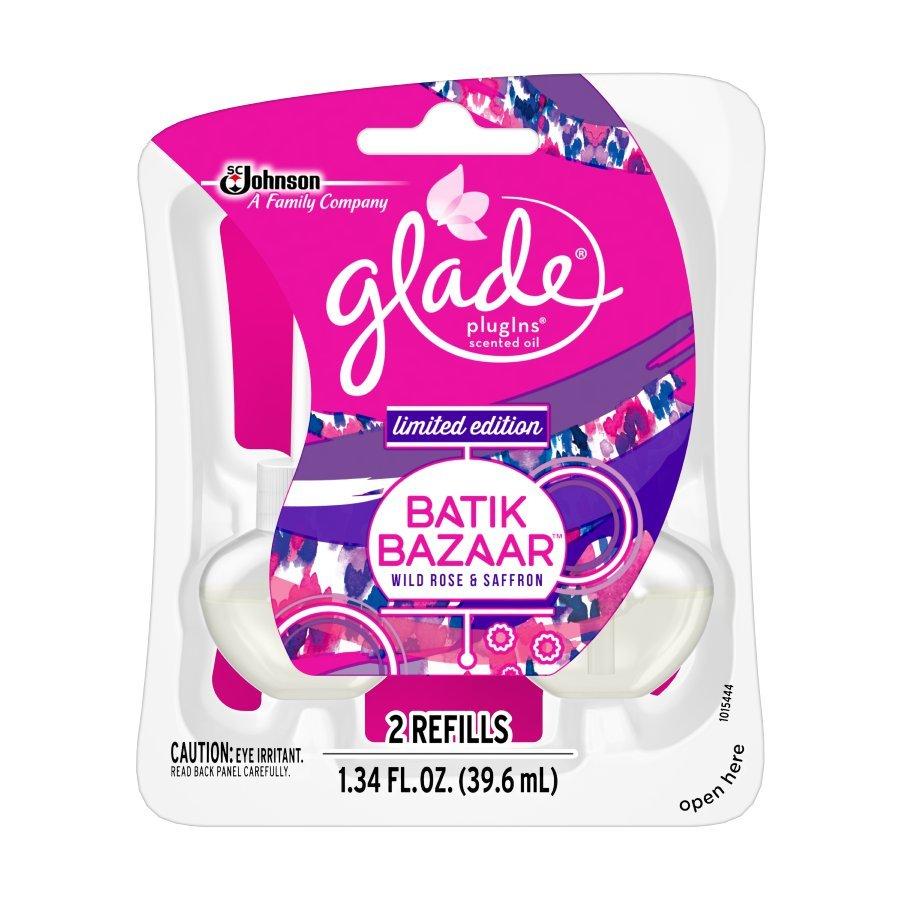 Glade 2-Pack Batik Bazaar Plug-in Electric Air Freshener Refills