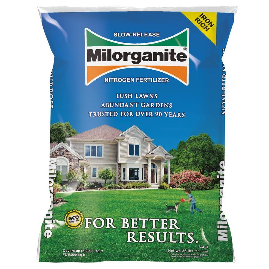 Milorganite Organic Nitrogen Lawn Fertilizer (5-2)