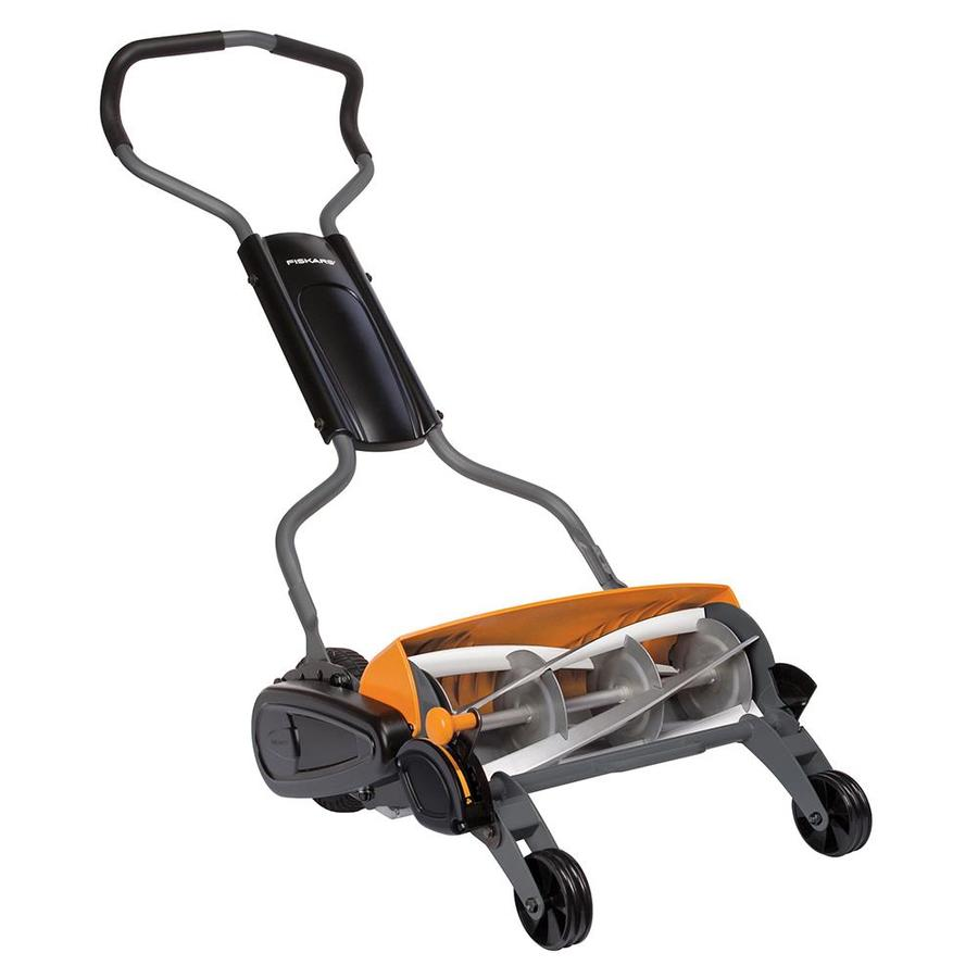 Fiskars Inches Reel Lawn Mower