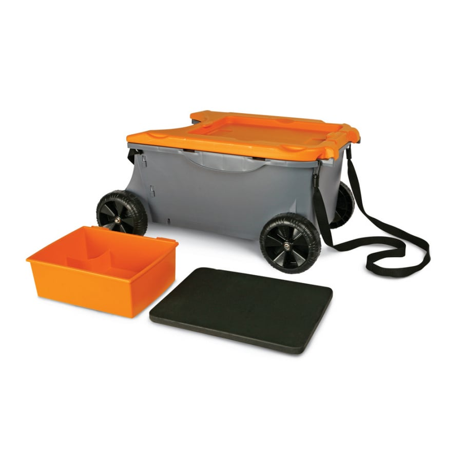 Shop Fiskars Sit Store Garden Cart at Lowescom
