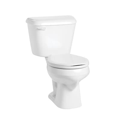 Cool Alto White Watersense Round Standard Height 2 Piece Toilet 12 In Rough In Size Machost Co Dining Chair Design Ideas Machostcouk
