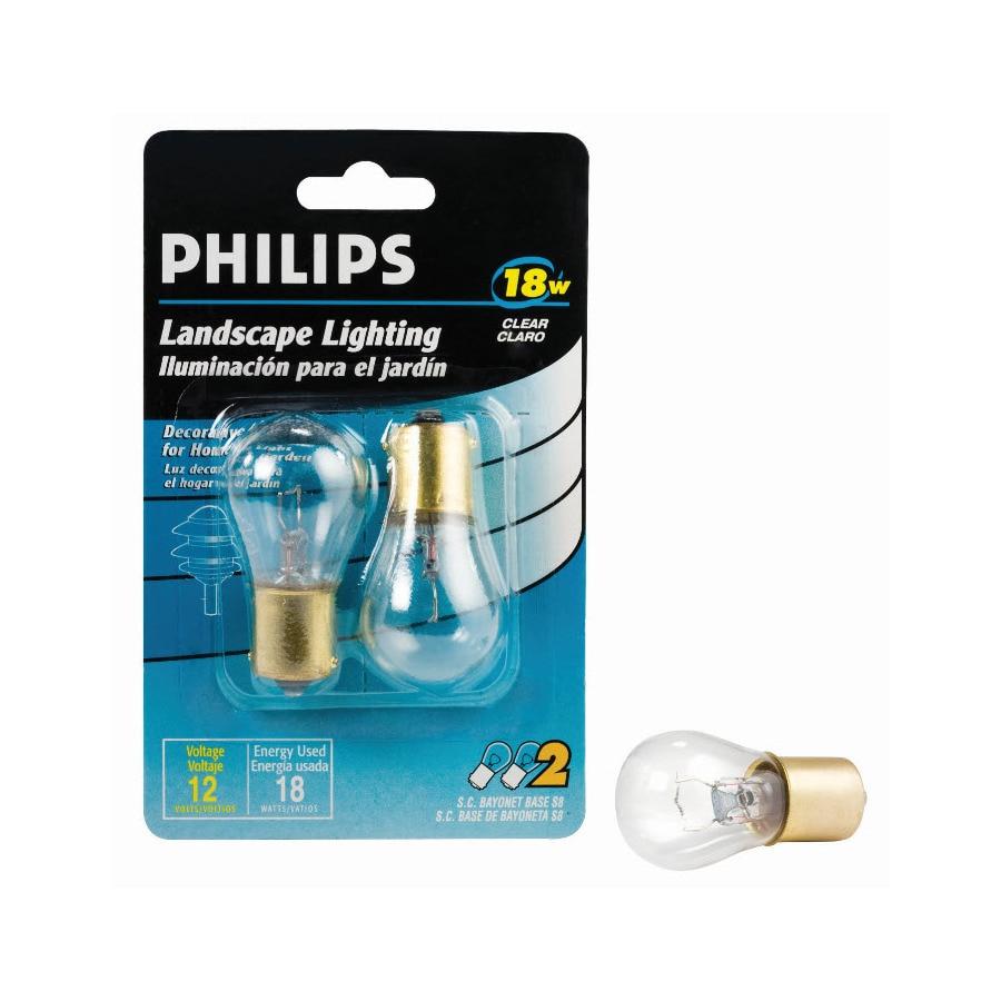 Philips 2-Pack 18 Watt Soft White S Halogen Light Fixture Light Bulb