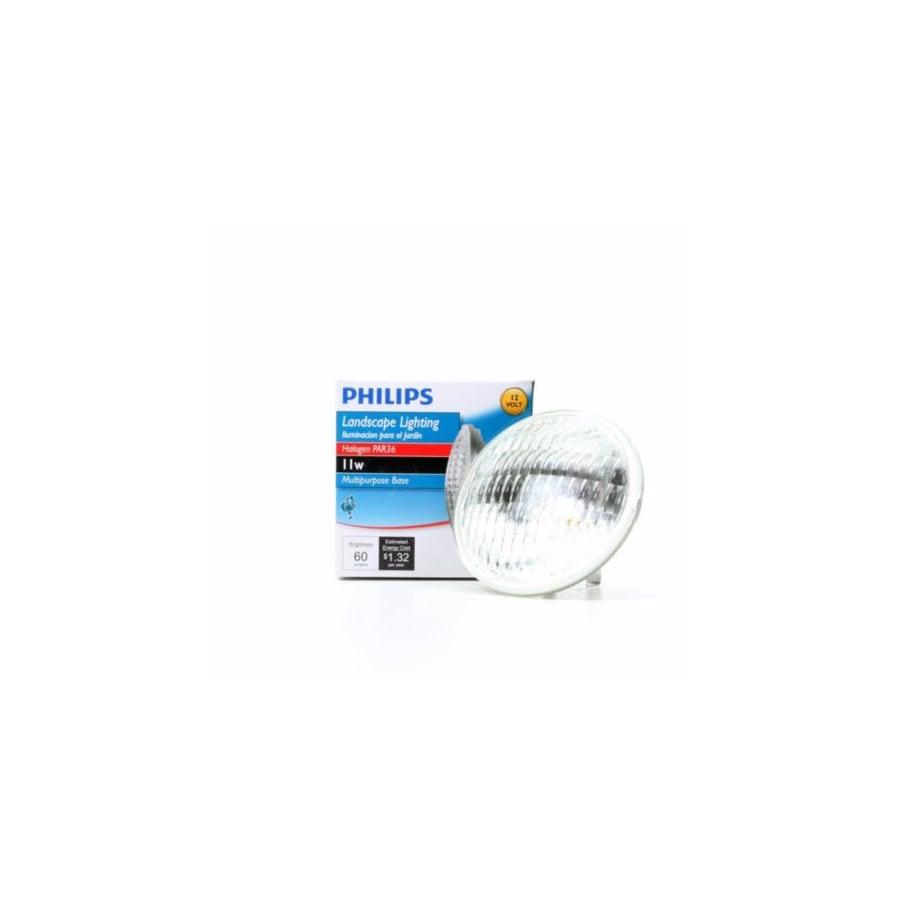 Philips 11-Watt Bright White PAR36 Halogen Light Fixture Light Bulb