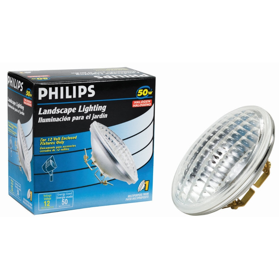 shop philips 50 watt soft white par36 halogen light fixture light bulb. Black Bedroom Furniture Sets. Home Design Ideas