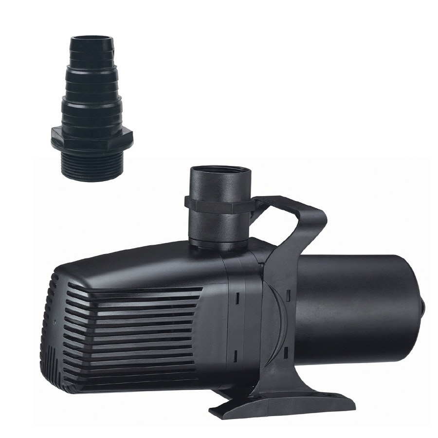 Shop tetra 3600 gph water garden pond pump at for Pond water pump