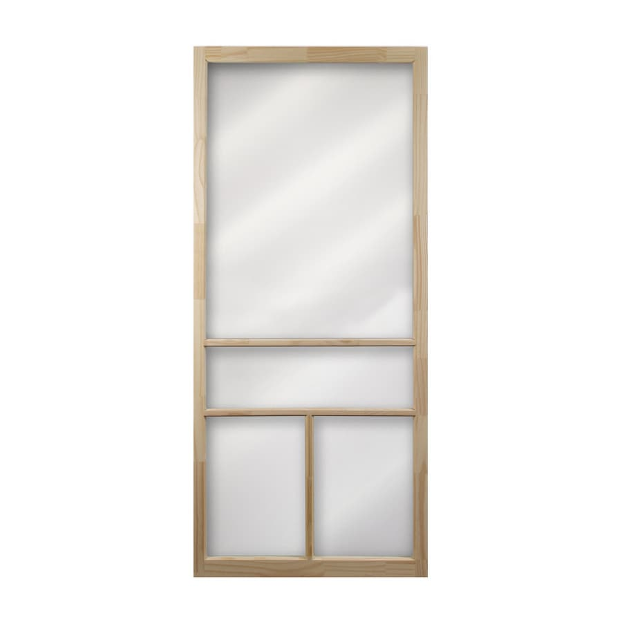 Columbia Mfg. 32\  Natural T-Bar Wood Screen Door  sc 1 st  Lowe\u0027s & Shop Columbia Mfg. 32\