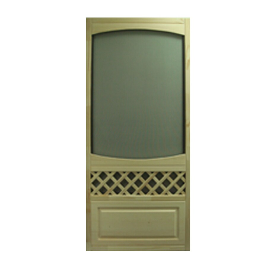 Lowe S Wooden Screen Doors ~ Shop columbia mfg in wood screen door at lowes